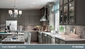 Kraftmaid Grey Cabinets Robertson Kitchen And Bath Gallery