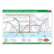 underground map network map prints mumbles underground
