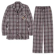 your wdw store disney mens pajamas santa mickey mouse black plaid