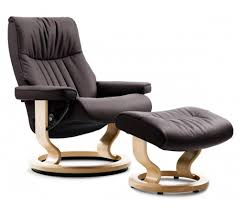 Recliner Ottoman Stressless Crown Classic Recliner Ottoman From 2 395 00 By