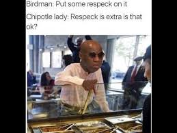 Breakfast Club Meme - birdman demands respeck remix on the breakfast club memes youtube