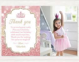 printable thank you cards princess fishing thank you fishing 1st birthday photo thank you card