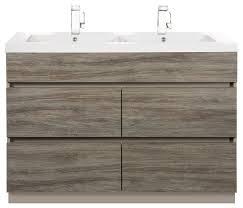 4 Bathroom Vanity by Boardwalk Double Sink 4 Drawer Bathroom Vanity Modern Bathroom