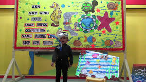 save water pollution save marine life fancy dress competition