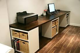 Diy Wood Desk Plans 7 Wooden Desk Designs Home Office Adorable Diy Plans
