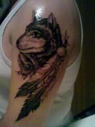 beautiful wolf bicep designs tattoomagz