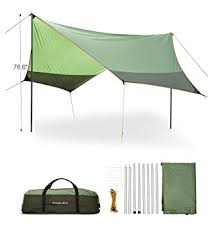 amazon com fivejoy portable canopy tent rainfly sun shelters