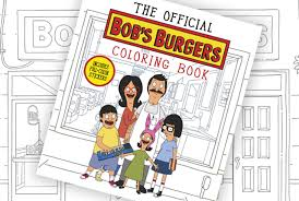 the u0027bob u0027s burgers u0027 coloring book lets you make the burger puns