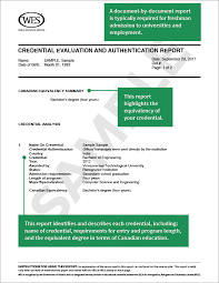 about wes credential evaluation world education services