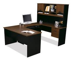 U Shape Office Desk by Office Design Office Desk Altra Pursuit U Shaped Desk With Hutch