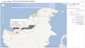Map Coordinate Systems Dominoc925 Show Borneo R S O Timbalai Coordinates Mapplet