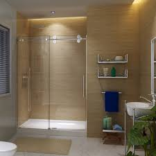 ckb frameless smooth gliding shower doors 60 x79 1 2 glass