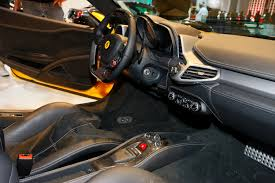 Ferrari 458 Interior - ferrari 458 italia live at frankfurt motor show