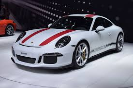 porsche 2017 white 2017 porsche 911 r proof stripes go with everything