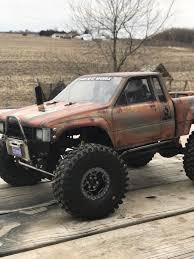prerunner bronco bumper scx10 scx10 ii raised comp style sr5 honcho front bumper with