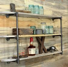 shelves wonderful large black metal leaning ladder wall shelf