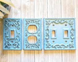 Shabby Chic Switch Plate by Outlet Cover Etsy