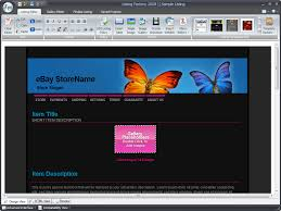edit html template listing factory 2016 ebay template creator screenshots