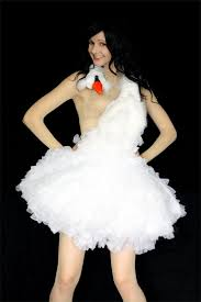 swan dress bjork costume or just a swan 8 steps with pictures