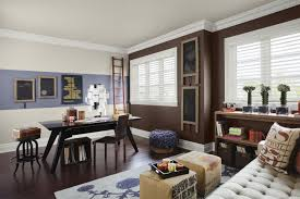 rich home decor wall dawning an trendy color schemes home office wall rich brown