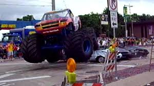 monster truck videos for monster truck crashes party travel channel