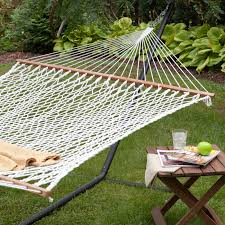 Hammock With Wooden Stand Island Bay 13 Ft Xl Double Hammock With Metal Stand U0026 Pillow