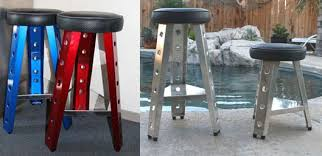 garage table and chairs superior metal aluminum stool for garage or shop furniture gifts