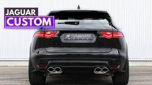 jaguar f pace trunk 2017 hamann jaguar f u2011pace youtube