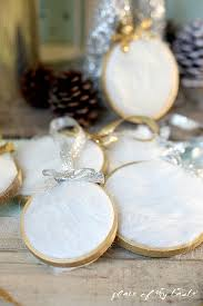fur christmas ornament diy using faux fur for the season