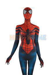 Body Costumes Halloween Spider Costume Mayday Parker Fullbody Spandex Halloween