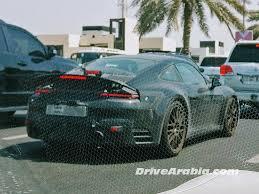 porsche 911 v8 2020 porsche 911 992 generation prototype spotted in dubai drive