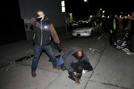 undercover chp officer pulls gun at oakland protest after outing