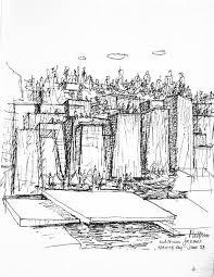 halprin sketch designer sketch pinterest sketches