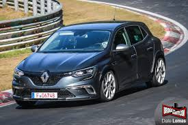 renault megane new 2018 renault megane rs flying on nurburgring spyshots seem to