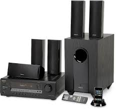 onkyo home theater onkyo ht s4100 black home theater audio system with ipod dock