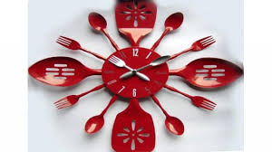 unique kitchen clocks cool wall clocks creative kitchen clocks