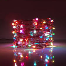 33 foot twinkle led lights 100 color changing micro led