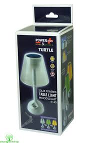 Solar Turtle Light by Powerplus Turtle Solar U0026 Usb Powered Led Table Lamp Supplied With