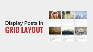 layout non grid how to display your wordpress posts in a grid layout youtube