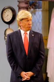 tim allen dressed up as donald trump for halloween episode of