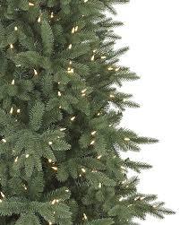 artificial blue spruce tree lights decoration