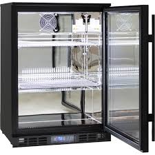 fridge freezer glass door glass door commercial bar fridge with lg compressor