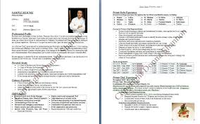 Kitchen Hand Resume Sample by Resume Killer Resume For Chefs Chef Resume Objective Examples