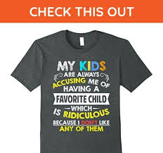Favorite Child Meme - mens funny favorite child t shirt meme family quote son daughter 3xl