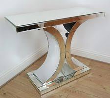 Venetian Mirrored Console Table Contemporary Console Tables Ebay