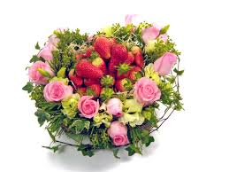 flowers and fruits fruit basket fruits and flowers i p7415 give gift boutique