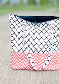 How To Sew A Curtain How To Make A Bag Tote Bag Pattern And Tutorial