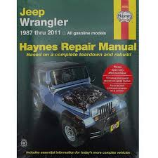 jeep repair manual jeep wrangler jk tj yj repair manual sold individually