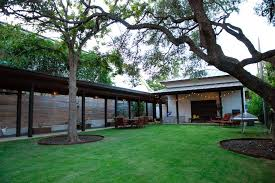 Backyard Shade Trees Covered Walkways Landscape Contemporary With Shade Trees My Houzz Turf