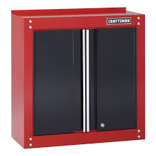 Storage Wall Cabinets With Doors Craftsman 10131 28